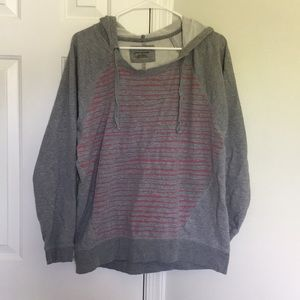 DKNY Sweatshirt with pink stripes